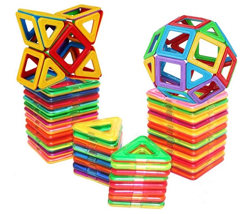 Magnetic Building Blocks for Toddlers